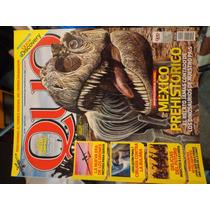 Revista Quo Con Reportaje Mexico Prehistorico Dinosaurios