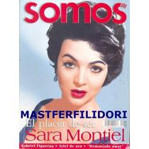 Sara Montiel Revista Somos 2001 Maria Felix Pedro Infante