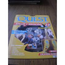 Revista Poster Quest Salud Y Medicina N.23 Maqueta Calavera
