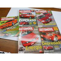 4 Revistas Automóvil Panamericano Como Nuevas.