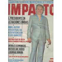 Enrique Guzman En Impacto, Revista De 1982