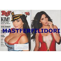 Kim Kardashian Revista Rolling Stone Usa Julio 2015