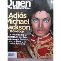 Revista Quien Mexico Adios Michael Jackson, En Español
