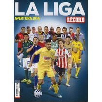 Revista Especial Futbol Record La Liga Apertura 2014