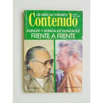 Contenido Revista, Durazo Y González Frente A Frente, Etc.