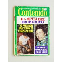 Contenido Revista, El Opus Dei En México, Terapia Sexual...
