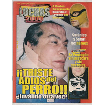 Lote 4 Revistas Lucha Libre México Adiós Del Perro Aguayo