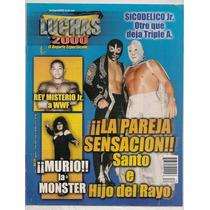 Revista Lucha Libre México Muerte La Monster Santo Rayo