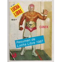 Revista Lucha Libre México Anuario 1987