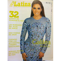 Galilea Montijo Revista Vida Latina