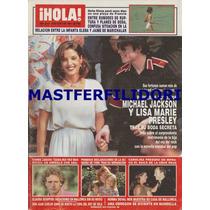 Michael Jackson & Lisa Marie Presley Revista Hola 1994