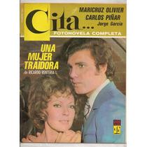 Fotonovela Cita Maricruz Olivier Carlos Piñar +póster 1972