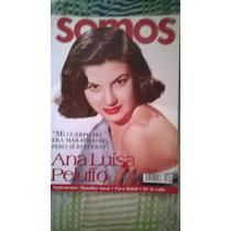 Ana Luisa Peluffo. En Revista Somos. # 212 (año-2001) $70.00
