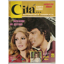 Fotonovela Cita Alberto Vázquez Jacqueline Andere 1973