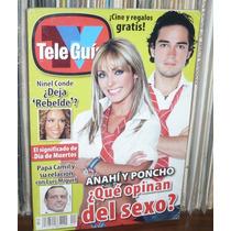 Anahí Y Poncho ¿que Opinan Del Sexo? Tv Guia 2005