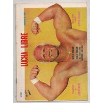 Revista Lucha Libre México Hulk Hogan 1987