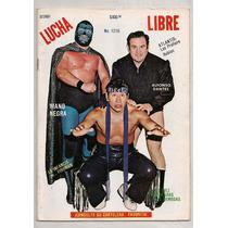 Revista Lucha Libre México Mano Negra Ringo Dantés 1987
