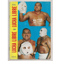 Revista Lucha Libre México Gran Markus 1987