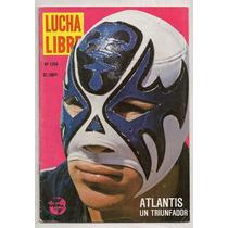 Revista Lucha Libre México Atlantis 1988