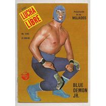 Revista Lucha Libre México Blue Demon El Solitario 1988