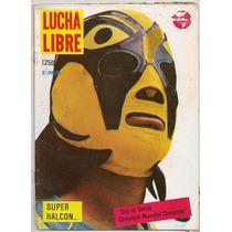 Revista Lucha Libre México Superhalcón Rayo De Jalisco 1988