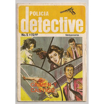 Rara Fotonovela Mexicana Detectives Policiaca Terror Años70s