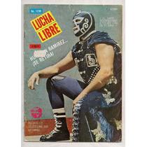 Revista Lucha Libre México Huracán Ramírez 1987