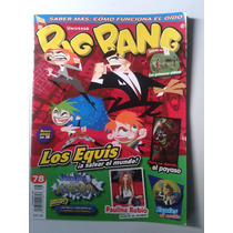 Revista Big Bang 78 Los Equis A Salvar El Mundo Paulina Rubi