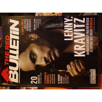 Revista The Red Bulletin Portadad Lenny Kravitz De Coleccion