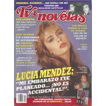 Revista Tv Y Novelas En La Portada Sasha