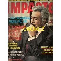 Revista Gigante Impacto Ernesto Alonso El Maleficio 1984