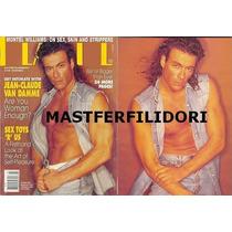 Jean Claude Van Damme Revista Usa De Julio 1993