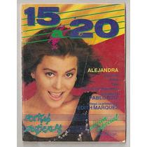 Alejandra Guzmán Edith Márquez Revista 15 A 20 De 1990