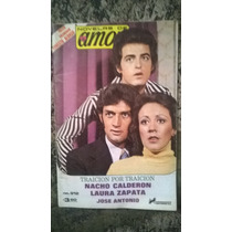 Fotonovela Novelas De Amor Nacho Calderón, Laura Zapata,1978