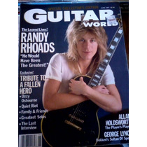 Guitar World Usa - Randy Rhoads (1987)