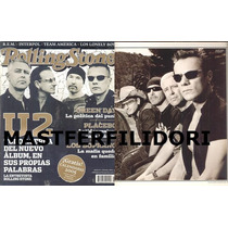 U2 Bono Revista Rolling Stone Mexico Diciembre 2004