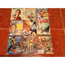 Revista Sucesos Para Todos Anos 50s Lote De 9 Ejemplares