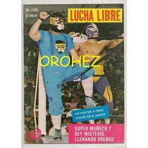 Revista Lucha Libre México Rey Misterio El Santo 1988