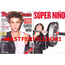 Justin Bieber Revista Rolling Stone Mexico De Marzo 2011