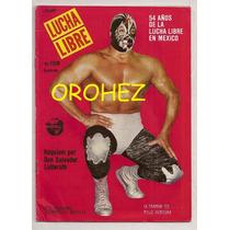 Lote Revista Lucha Libre México Mil Máscaras Blue Demon 1987