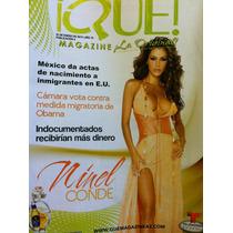 Ninel Conde Revista Que Magazine