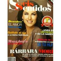 Barbara Mori Revista Seis Sentidos
