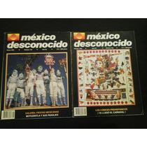 Mexico Desconocido Lote De Dos Revistas