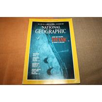 Set Revista Nat Geo Dec 85 + Vhs Los Secretos Del Titanic 86