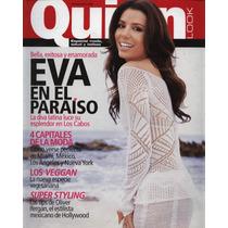 Revista Quien Varios Números Fey, Ricky Martin, Eva Longoria