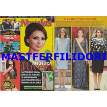 Angelica Rivera En Europa Revista Tvynovelas 2014