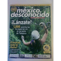 Revista México Desconocido. Lánzate