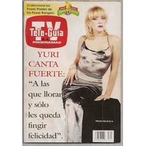 Yuri Thalía Revista Teleguía De 1995