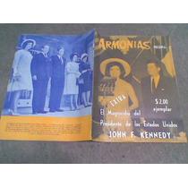 Revista Armonias El Magnicidio De Jhon F.kennedy