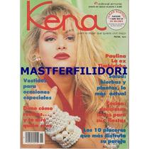 Paulina Rubio Revista Kena De Julio 1991 Timbiriche